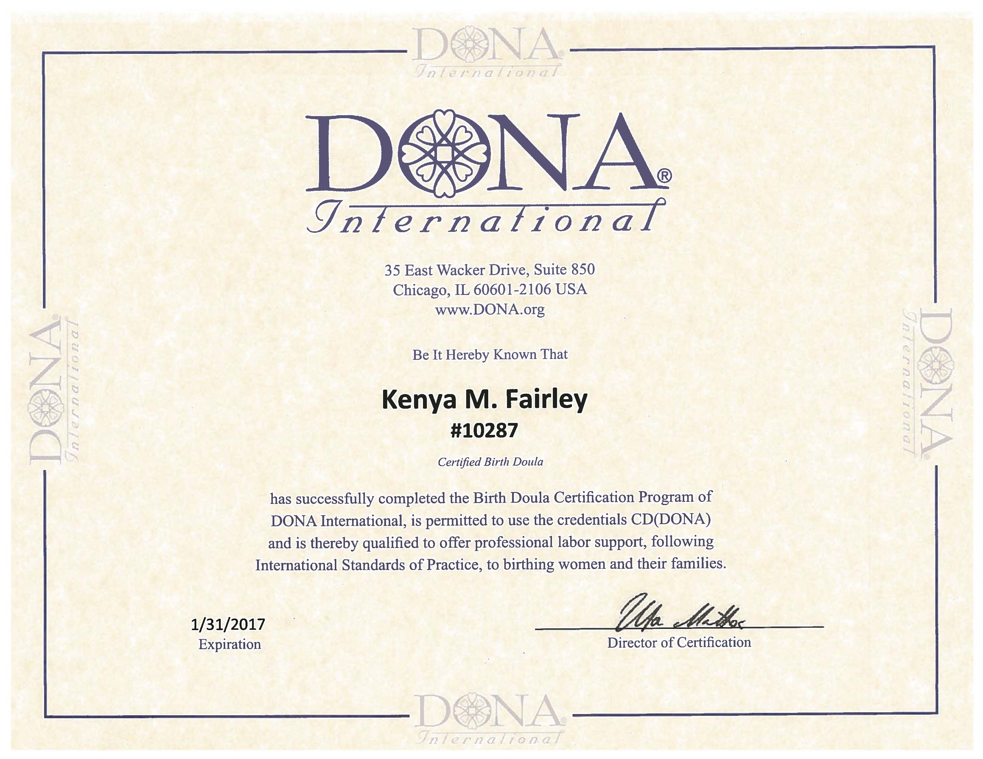 Services kenya the doula certification aiddatafo Image collections